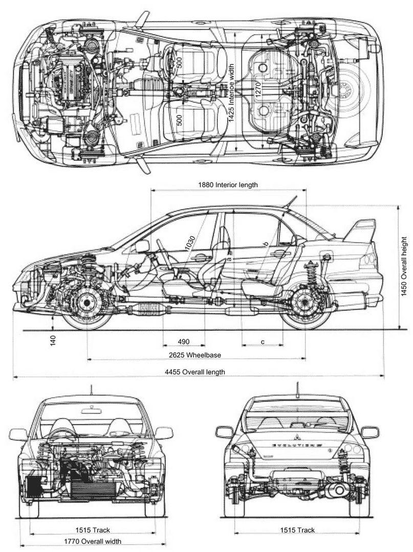 Blueprints für Sportmodelle - Datenbank - Mitsubishi Fan Forum