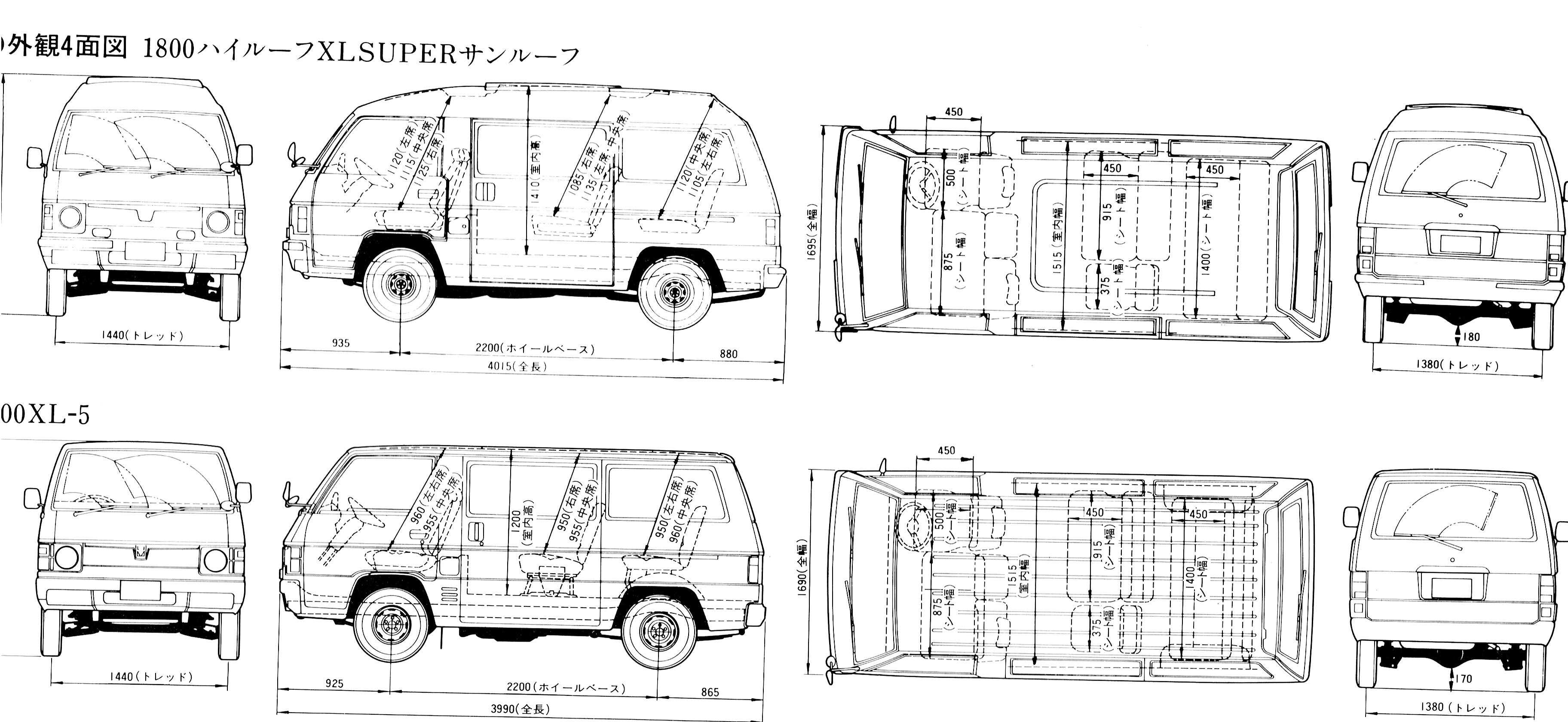 Spaceline] Blueprints - Datenbank - Mitsubishi Fan Forum